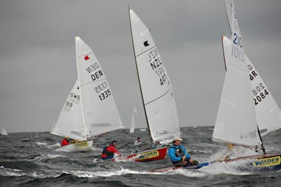 Reaching OK Dinghies