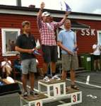Podium places of swedish championship