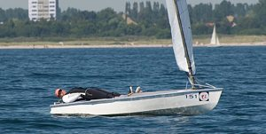 No wind for OK dinghies